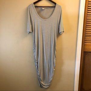 Motherhood Maternity Midi Dress